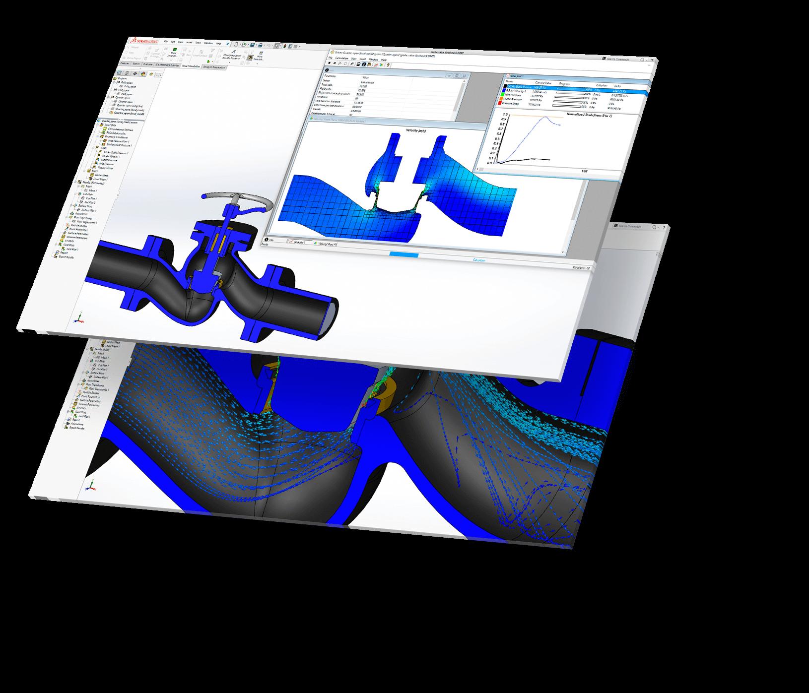 Solidworks flow simulation - Kontakt Teamworks for tilbud