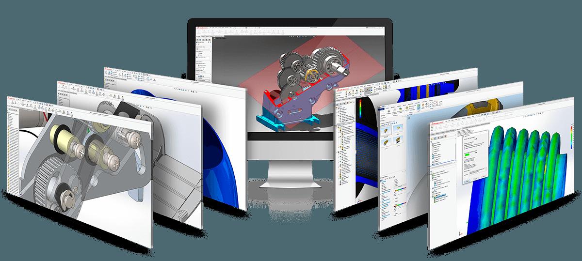 Leje solidworks premium og solidworks simulation