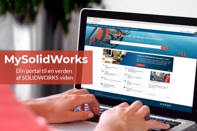 MySolidWorks er din portal til SOLIDWORKS viden