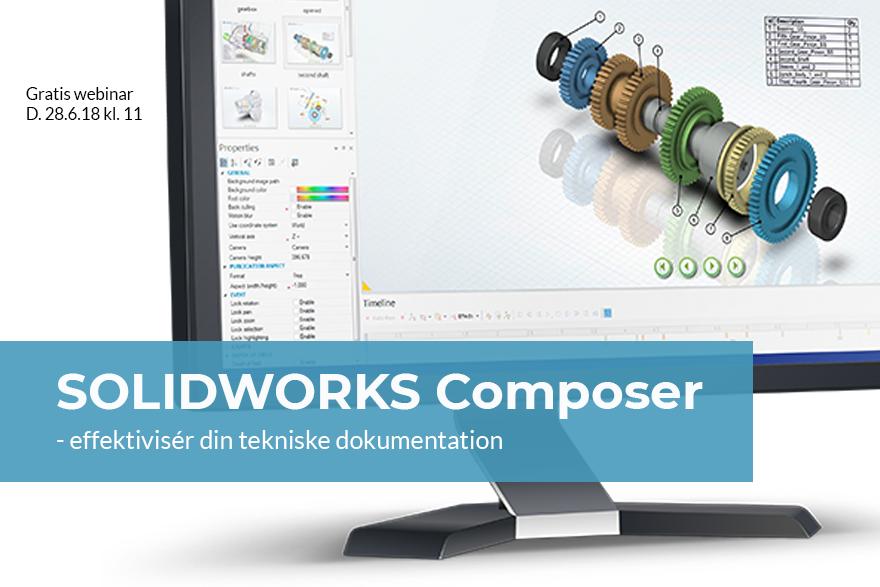 Webinar om SOLIDWORKS Composer