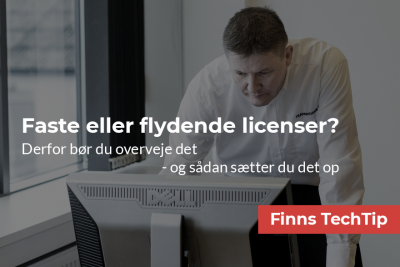 Faste eller flydende SOLIDWORKS licenser