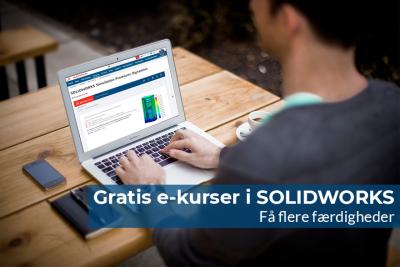 Gratis e-kurser i SOLIDWORKS
