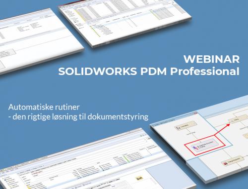 Webinar: SOLIDWORKS PDM Professional