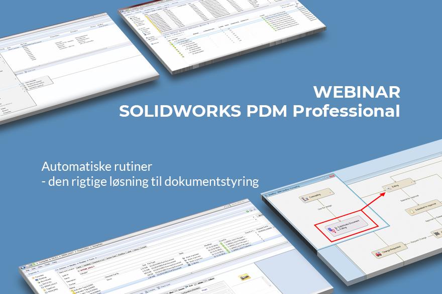 Automatisk dokumentstyring med PDM Professional