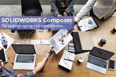 Tal samme sprog med SOLIDWORKS Composer