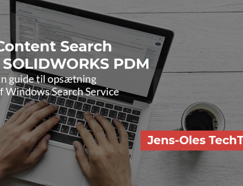 Content Search i SOLIDWORKS PDM