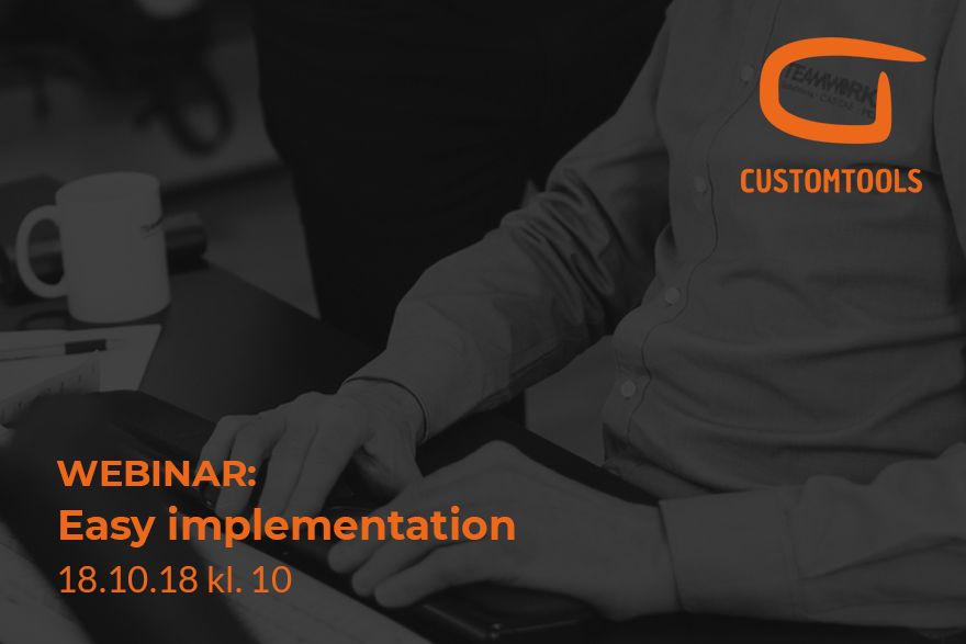 Webinar about CustomTools easy implementation
