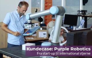 Purple Robotics: Fra start-up til stjerne indenfor robotteknologi