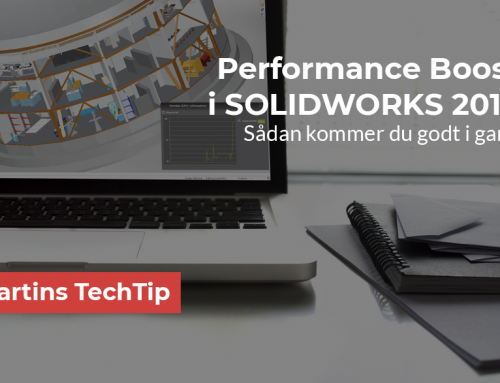 Performance Boost i SOLIDWORKS 2019