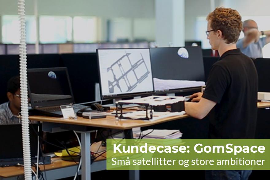 Kundecase: GomSpace - små satellitter og store ambitioner