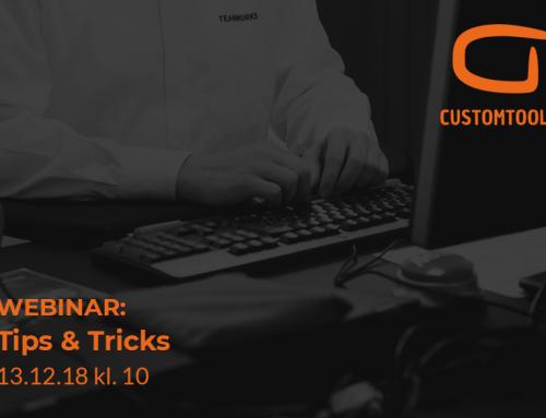 Webinar: CustomTools Tips & Tricks