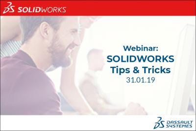 Webinar om SOLIDWORKS tips og tricks