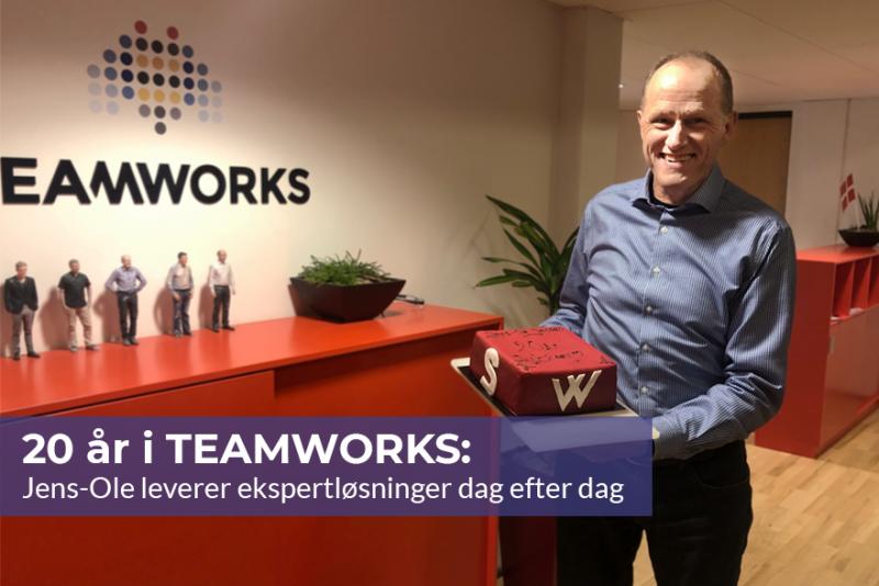 20 års i TEAMWORKS: Jens-Ole