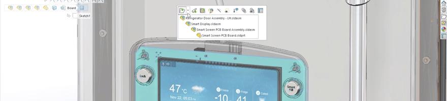 CircuitWorks er en oversætterbro mellem ECAD og SOLIDWORKS