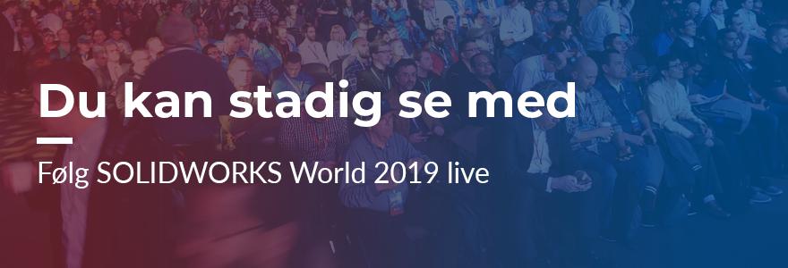 SOLIDWORKS World General Session livestreaming