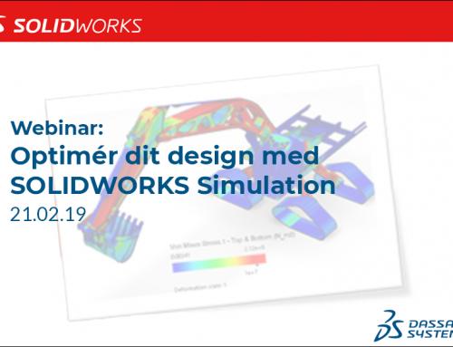 Webinar: SOLIDWORKS Simulation ved SolidWorks Corp.