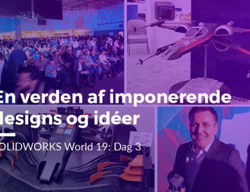 SOLIDWORKS World 2019: En verden af imponerende designs og idéer