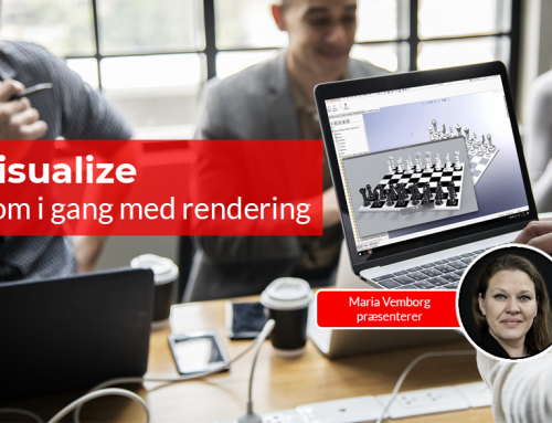 SOLIDWORKS Visualize: Kom i gang med rendering
