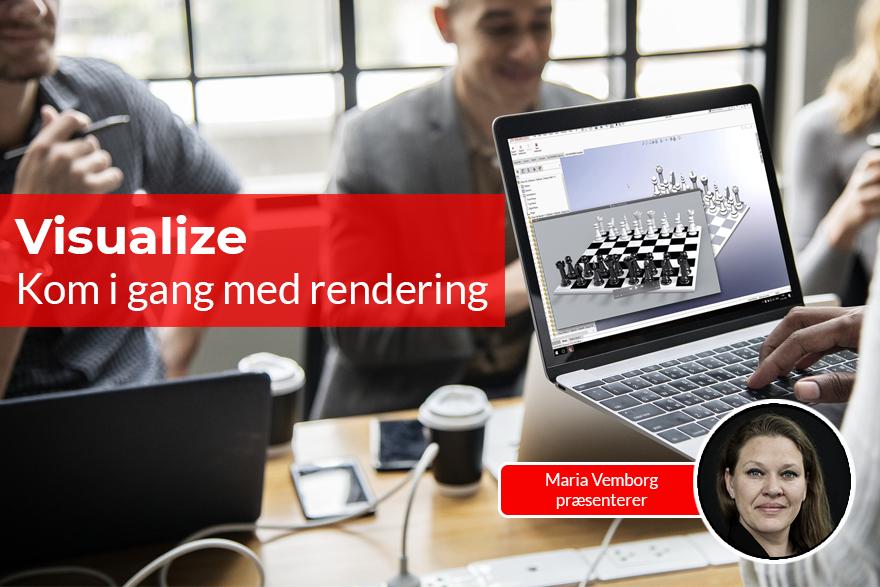 Brug Visualize til rendering