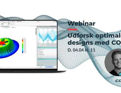 Webinar: CORTIME – Udforsk optimale designs