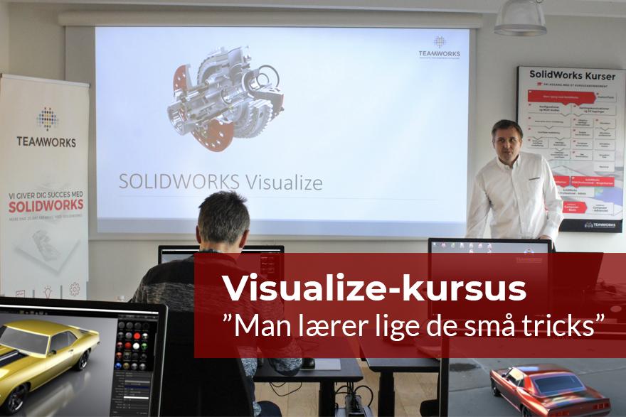 """Kursus i Visualize: """"Man lærer lige de små tricks"""""""