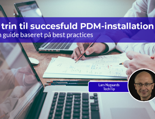 5 trin til succesfuld PDM-installation