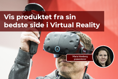 Med SOLIDWORKS kan du vise dine produkter i Virtual Reality