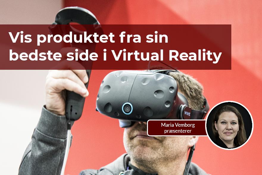 Med SOLIDWORKS kan du vise dine produkter i Virtual Reality
