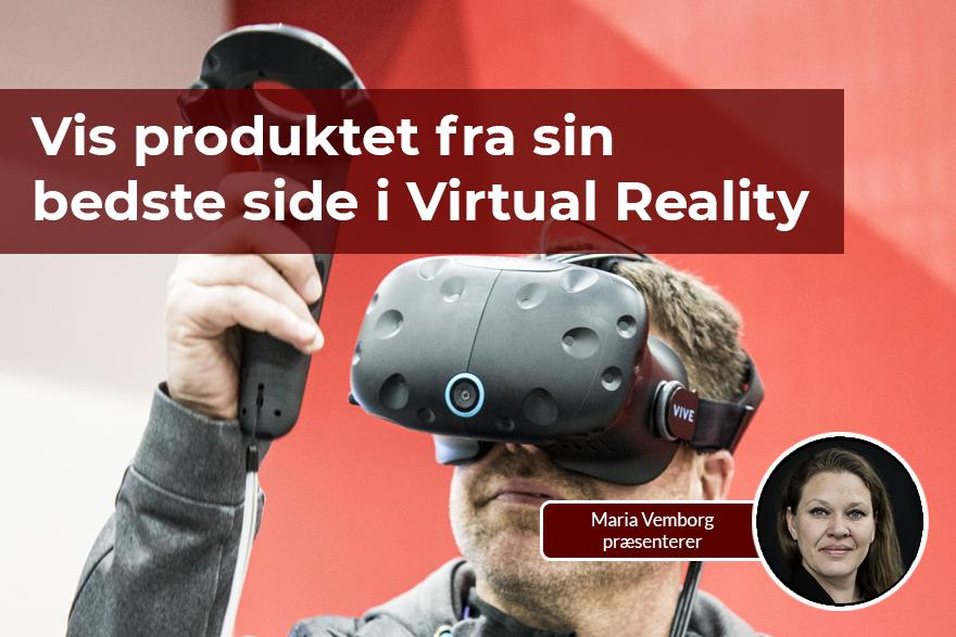 Vis dit produkt i Virtual Reality med SOLIDWORKS