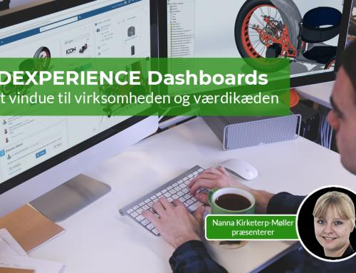 3DEXPERIENCE Dashboards: Dit vindue til virksomheden