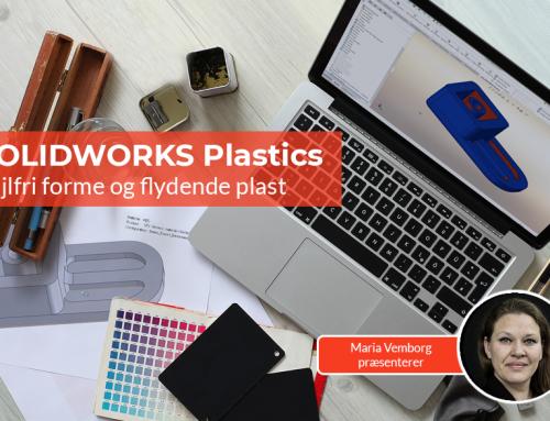 SOLIDWORKS Plastics: Fejlfri forme og flydende plast