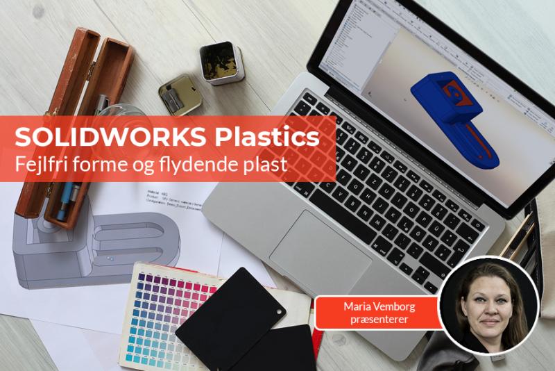 Opnå fejlfri forme og flydende plast med SOLIDWORKS Plastics