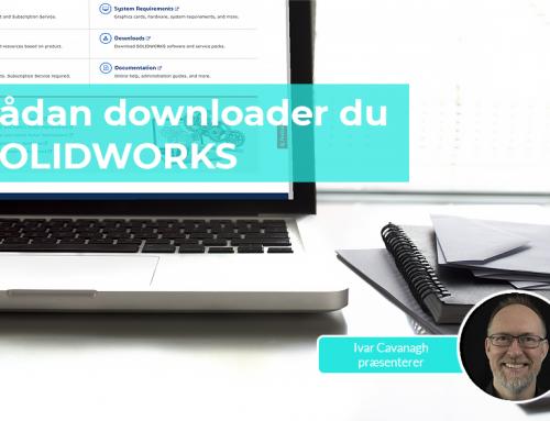 Sådan downloader du SOLIDWORKS