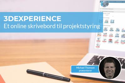 Online projektstyring med 3DEXPERIENCE