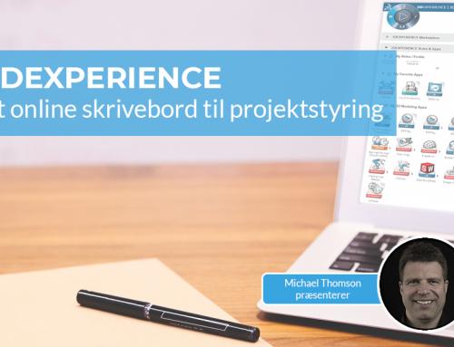 3DEXPERIENCE: Et online skrivebord til projektstyring