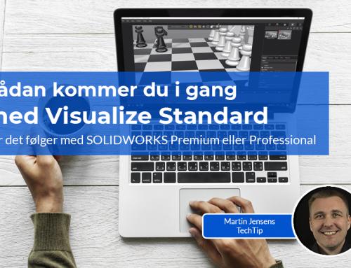 Sådan kommer du i gang med Visualize Standard