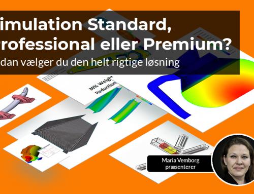 Simulation Standard, Professional eller Premium?