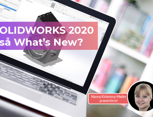 SOLIDWORKS 2020 – så What's New?