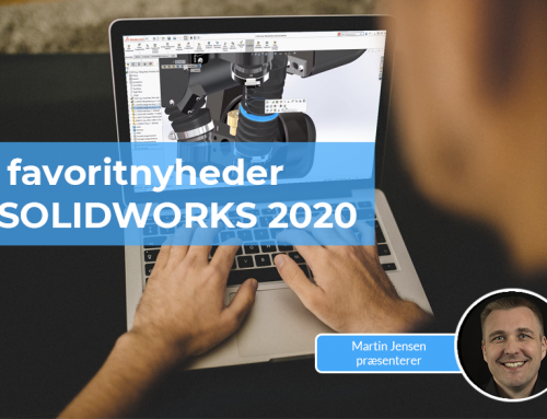 5 favoritnyheder i SOLIDWORKS 2020